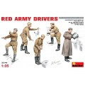 Red Army Drivers 5 figures