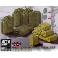 WWII British Fuel / Water Tank Set