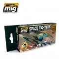Space Fighters SCI-FI Colors Set