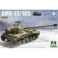 French Light Tank AMX-13/105 2in1