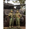 US 3rd Armored Division set 2 figures