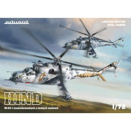 MI-24 in Czech and Czechoslovak Service Limited Edition Dual Combo 1/72
