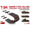 T-34 Wafer-type Halved Workable Tracks