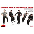 German Tank Crew - France 1940 (5 fig.)