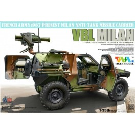Panhard VBL French Light Armoured Vehicle With MILAN