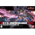 RX-O Full Armor Unicorn Gundam (Destroy Mode / Red Color Version) HG 1/144