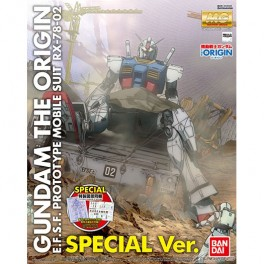 RX-78-02 Gundam (The Origin) Special Edition  MG 1/100