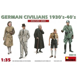 German Civilians 1930-40 (5 fig.)
