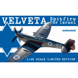 Velveta / Spitfire for Israel 1/48 Limited edition