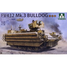 British APC FV432 Mk.3 Bulldog (2 in 1)