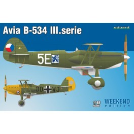 Avia B.534 3. série Week End