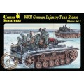 WWII German Infantry Tank Riders