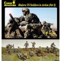Modern US Soldiers In Action (Set 2)