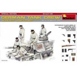German Tank Crew Winter (5 fig.)