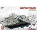 Germany WWII E-100 Heavy Tank with Krupp turret