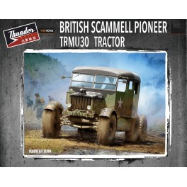 British Scammell Pioneer Tractor TRMU30