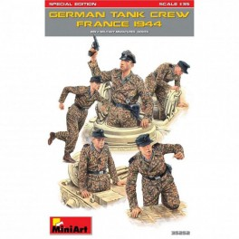 German Tank Crew France 1944 (5 fig.)