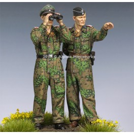 WSS Panzer Officers in Kursk Set - 2 Figs