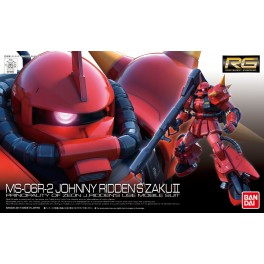 MS-06R-2 JOHNNY RIDDEN'S ZAKU RG 1/144
