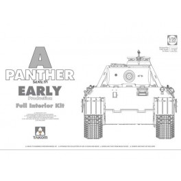 WWII German Tank Sd.Kfz.171 Panther A early