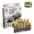 Panther-G Colors for interior and exterior Colors Set