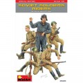 Soviet Tank Crew at Rest Special Edition (5 fig.)