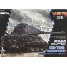 German King Tiger Porsche Turret - World War Toons Serie