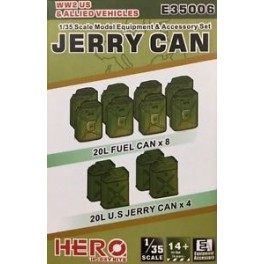 Jerry Can Of WWII US & Allied Vehicle