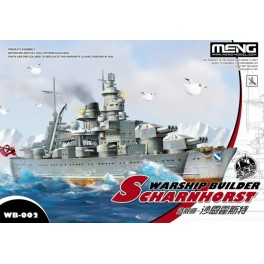 Warship Builder SCHARNHORST - World War Toons Serie
