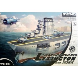 Warship Builder LEXINGTON - World War Toons Serie