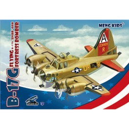 B-17G Flying Fortress Bomber - World War Toons Serie