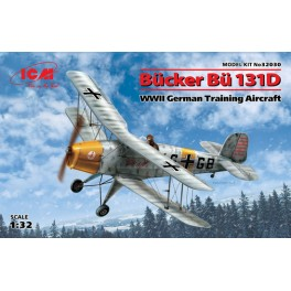 Bücker Bü 131D - WWII German Training Aircraft