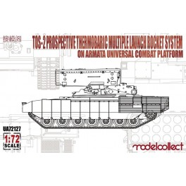 TOS-2 Prospective Thermobaric Multlple Launch Rocket System on Armata Platform
