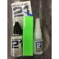 Kit Colle 21 (10gr + Magicdust + Canule + Lime)