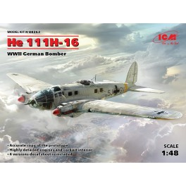 HE 111H-16 - WWII German Bomber