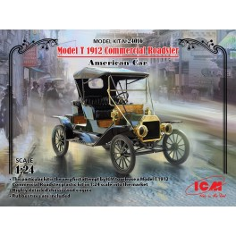 Model T 1912 Commercial Roadster American Car