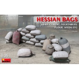 Hessian Bags (sand, cement, vegetables, flour, seeds,...)