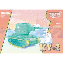 Soviet KV2 PINKY - World War Toons Serie