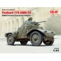 Panhard 178 AMD-35 WWII French Armoured Vehicle