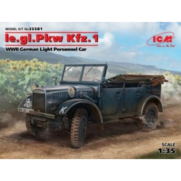 Le.gl.Pkw Kfz.1 WWII German Light Personnel Car