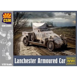 Lanchester WWI British Armoured Car