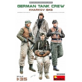 German Tank Crew Kharkov 1943 (4 Figs.)