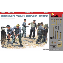German Tank Repair Crew Special Edition (5 Figs.)
