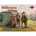 WWI British Tank Crew (4 figures)