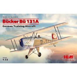 Bücker Bü 131A - German Training Aircraft