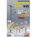 Soviet Road Sign WW2