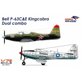 Bell P-63C&E Kingcobra Dual Combo (2 in 1)