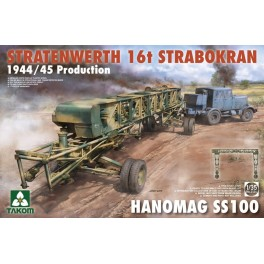 Stratenwerth 16t StraboKran 1944/45 Production Hanomag SS100