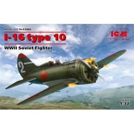 I-16 type 10 - WWII Soviet Fighter