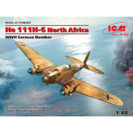 HE 111H-6 North Africa - WWII German Bomber